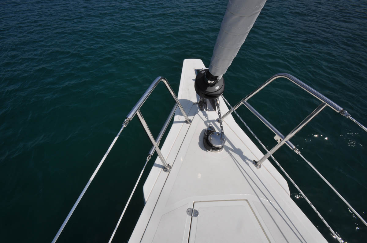 BRAND EQUIPMENT ENSURING SAILING COMFORT